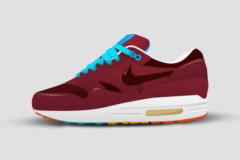 ... Nike Air Max 1 Cartoon by IModernArts