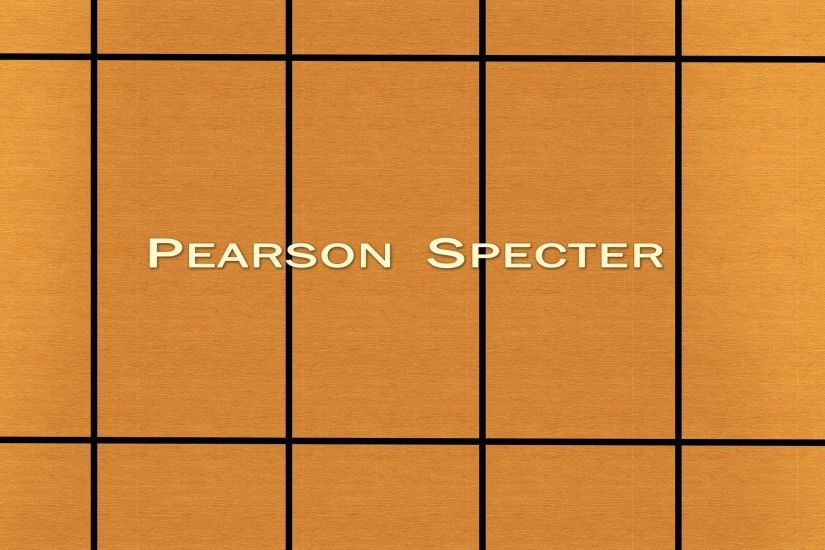 I made a Pearson Specter wallpaper.
