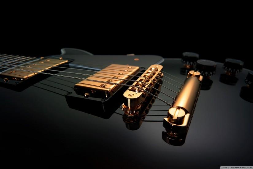 Black Guitar Wallpaper Full HD [2560x1600] - Free wallpaper full .