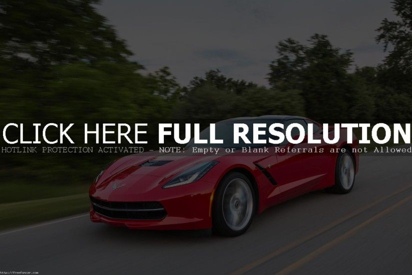 CHEVROLET CORVETTE STINGRAY Z51 SPORTS CAR MOTION HD WALLPAPER