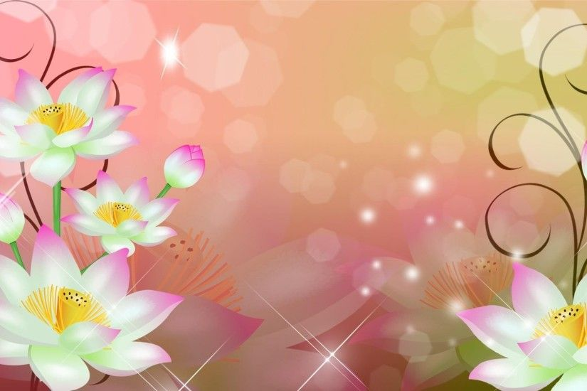 Flowers Abstract Backgrounds