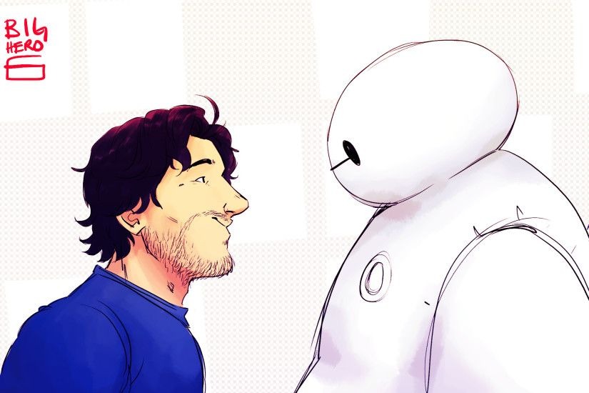 Movie - Big Hero 6 Markiplier Baymax Wallpaper