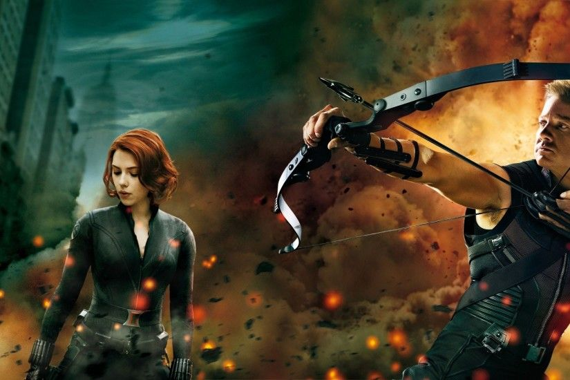 Black Widow And Hawkeye 530113