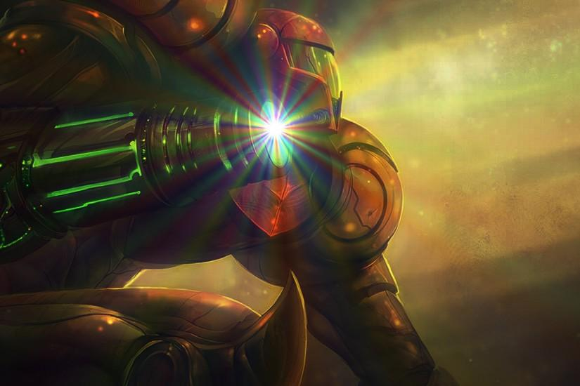 Video Game - Metroid Samus Samus Aran Wallpaper