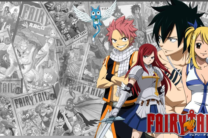 Ewallpaper Hub brings Fairy Tail Wallpaper in high resolution for you. We  collect premium quality Fairy Tail Wallpaper HD from all over the internet  with ...