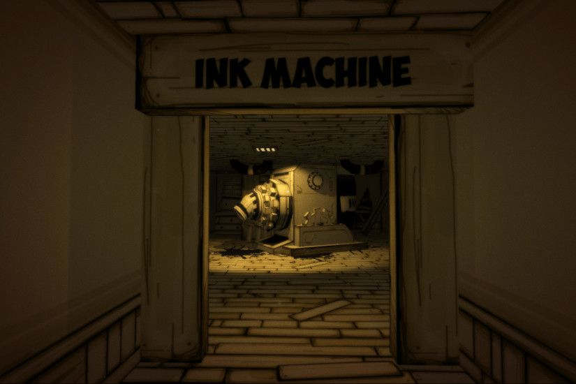 The titular Ink Machine, which must be turned on to complete the episode.