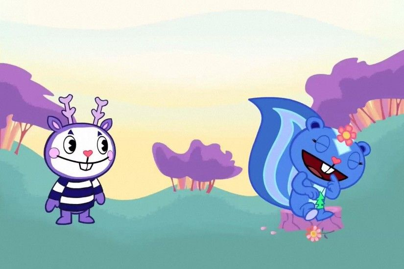 Mime and Petunia - Happy Tree Friends