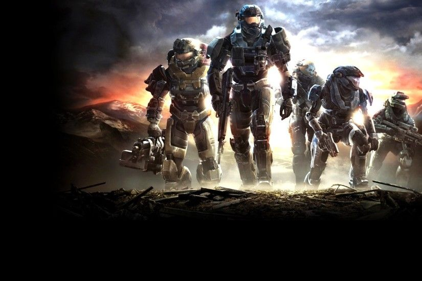 Halo Reach HD Background Wallpapers