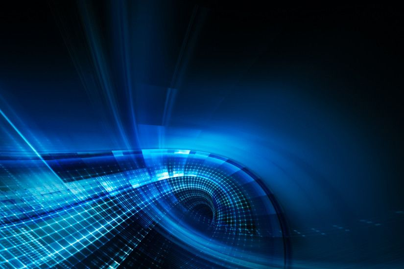Abstract - Blue - Cgi - Digital Art - 3d - Abstract Wallpaper