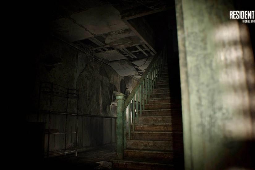 Creepy Stairs - Resident Evil 7: Biohazard 1920x1080 wallpaper