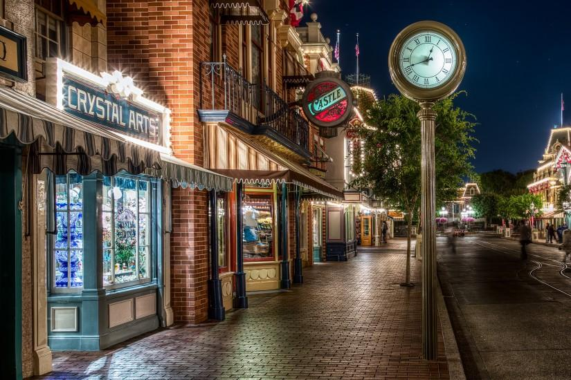 Disneyland main street Wallpapers Pictures Photos Images · «