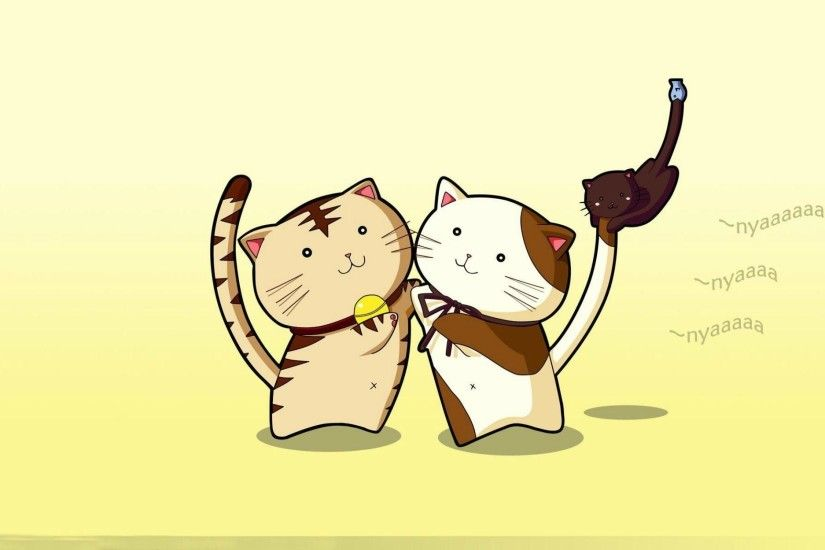 Nyan Kats Cats Kitten Cute Cartoon Sweet hd wallpaper #