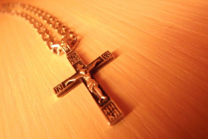 1920x1080 Wallpaper cross, chain, decoration, faith, orthodoxy