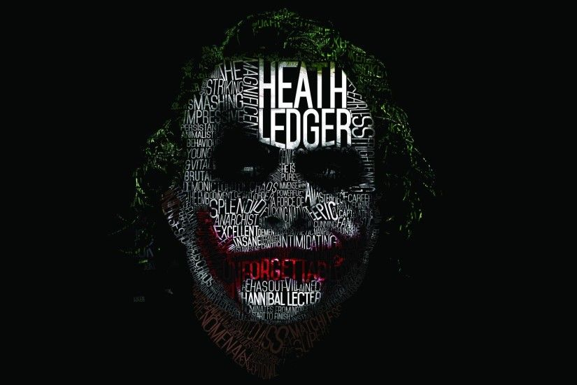 Heath Ledger Joker Wallpaper HD