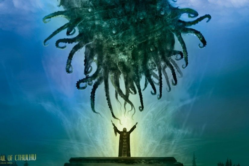... iPhone 5 - Fantasy/Cthulhu - Wallpaper ID: 364751 ...