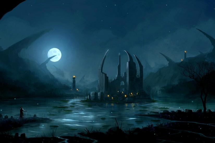 top fantasy landscape wallpaper 2560x1600 for mac