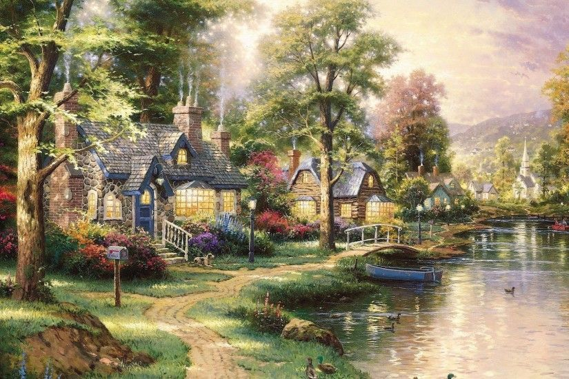 thomas kinkade jesus wallpaper - photo #6. WHAT DOES OUR DAY REQUIRE OF US?  | For the Love of His Truth