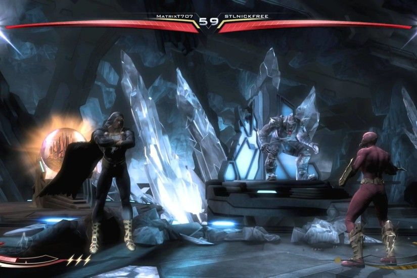 Injustice: Gods Among Us Ultimate Edition Flash vs Black Adam - Fortress Of  Solitude