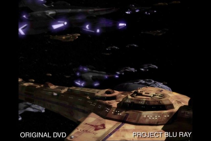 DS9 Project Blu Ray: 'Prepare for Battle' Comparison SD to HD