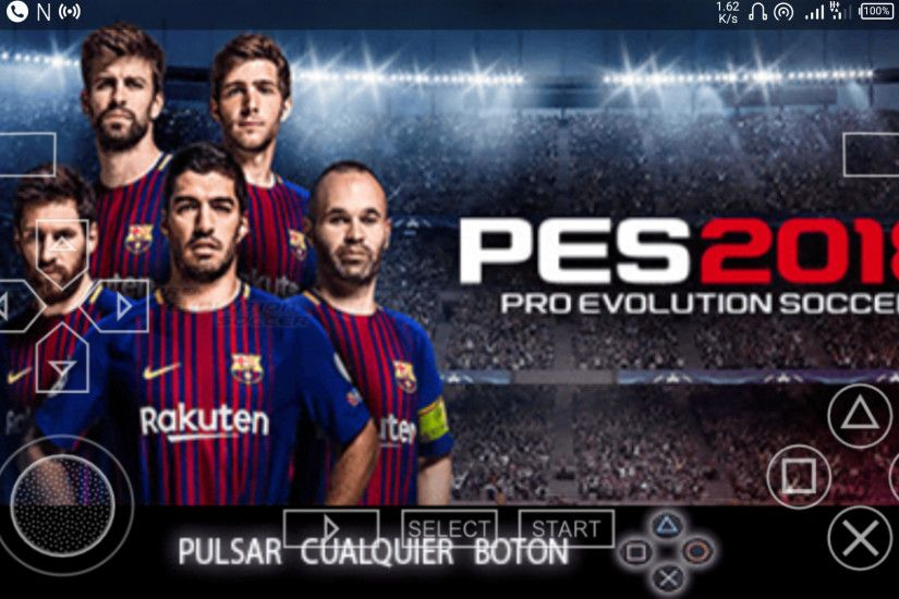 Download Pes 2018 PSP, Android PPSSPP