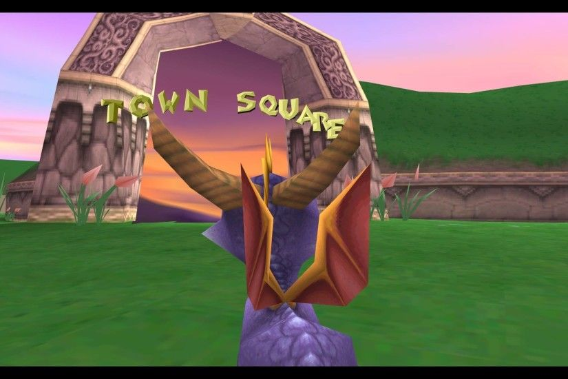 ... The Dragon Images Screenshots Welcome To Town Square Spyro Tweet ·  Wallpaper ...