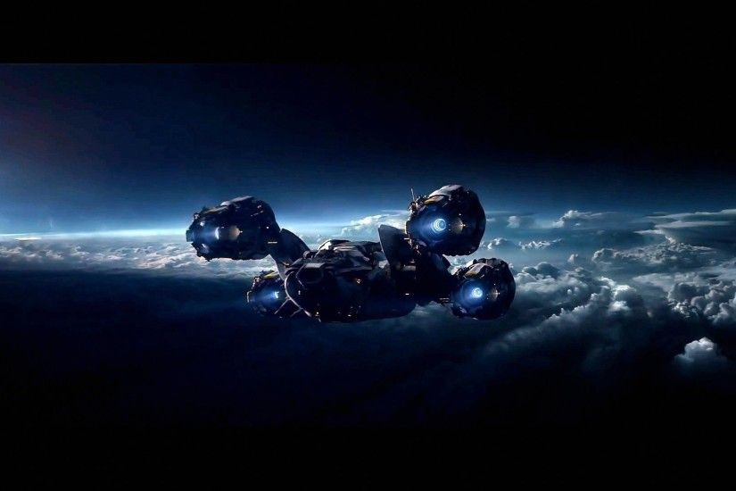 ... Download wallpaper prometheus, Prometheus, ship, astronaut free .
