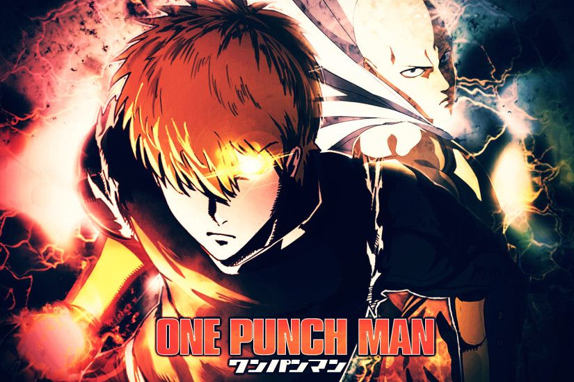 GENOS AND SAITAMA (ONE PUNCH MAN) by Azer0xHD .