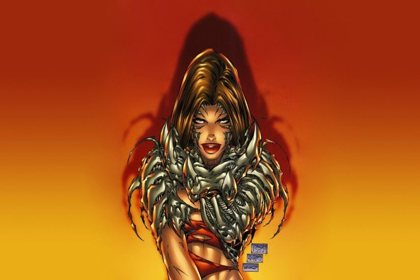 Witchblade, Comics, Top Cow, Sara Pezzini, Gradient, Michael Turner  Wallpapers HD / Desktop and Mobile Backgrounds