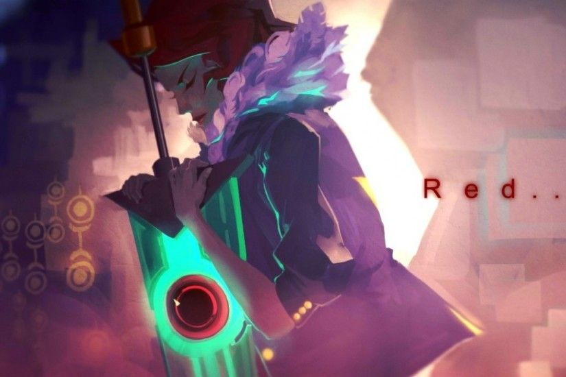Preview wallpaper transistor, supergiant games, monogame 2048x2048
