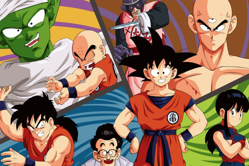 Anime - Dragon Ball Goku Piccolo (Dragon Ball) Krillin (Dragon Ball) Chichi
