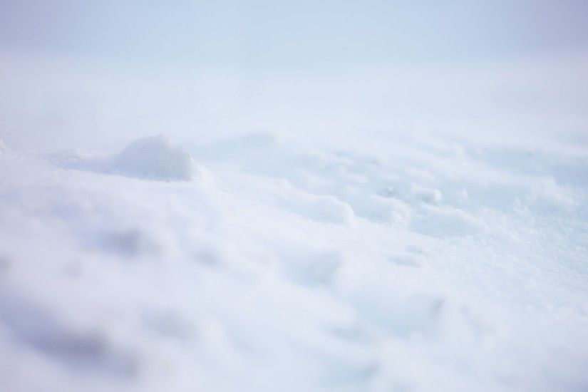 2048x1152 Wallpaper snow, white, background, surface