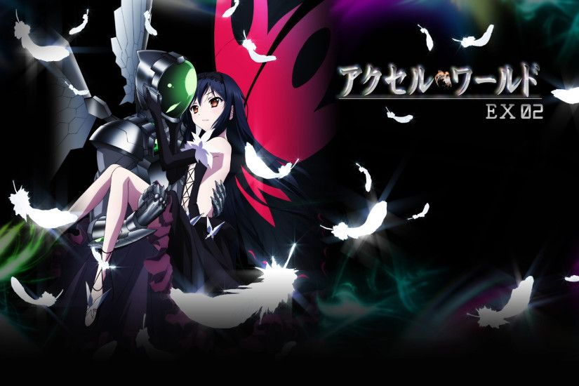 84 Kuroyukihime (Accel World) HD Wallpapers | Backgrounds .