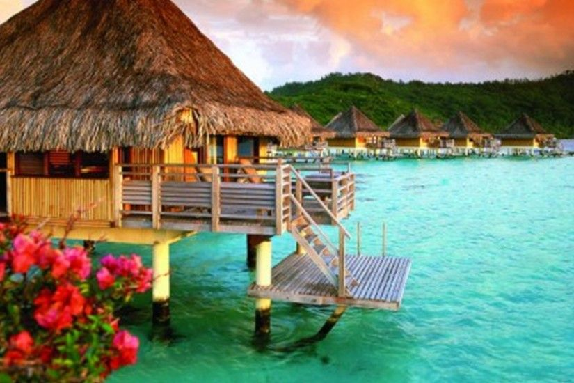 Bora Bora Resort Wallpaper