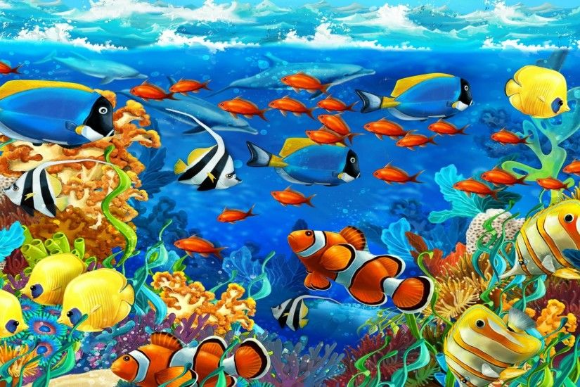 HD Fish Wallpaper Find best latest HD Fish Wallpaper for your PC desktop  background & mobile phones. | hd wallpapers | Pinterest | Fish wallpaper  and ...