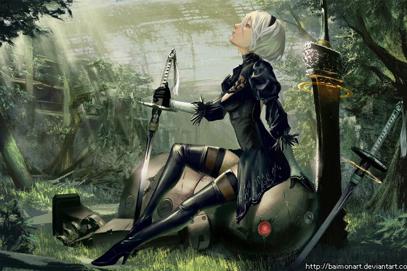 HD Wallpaper | Background ID:804829. 1920x1241 Video Game NieR: Automata