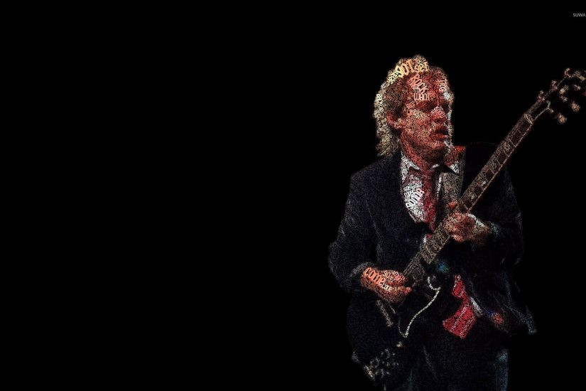 AC DC. 471. Angus Young wallpaper 1920x1200 jpg