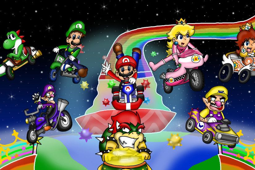 Holiday coloring pages mario 3d world coloring pages free · Super Mario  Kart Wallpaper ...