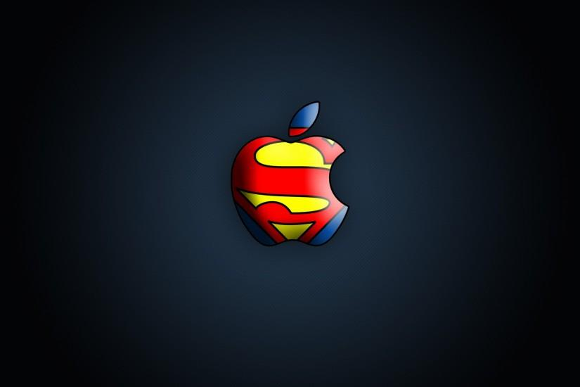 Apple Superman Logo wallpaper - 340478