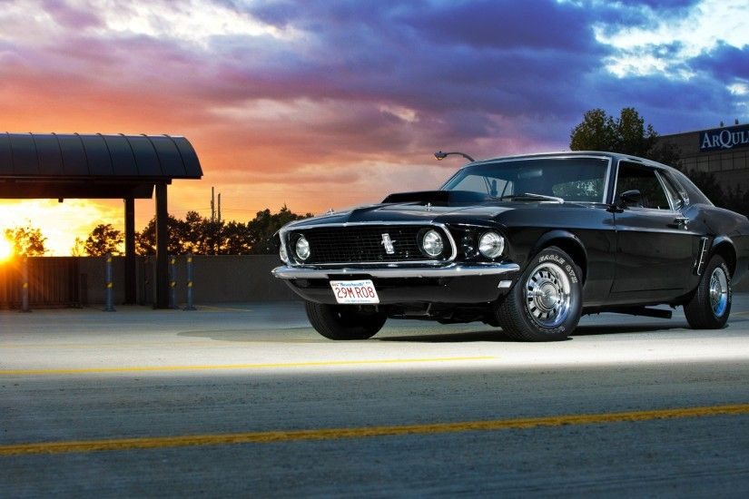 Muscle Car Mustang HD Images Wallpaper