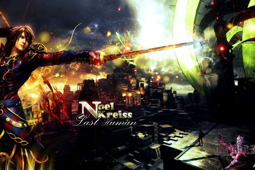 ... [Wallpaper] Noel Kreiss {Final Fantasy 13-2} by Yedine