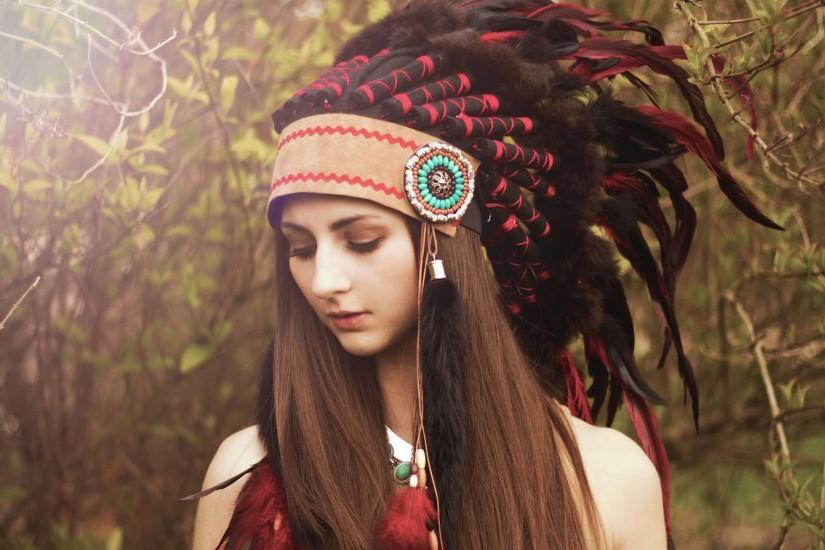 Girl Native American Backgrounds.