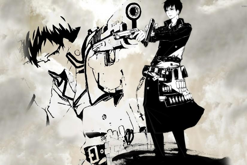 large blue exorcist wallpaper 1920x1200 for android tablet