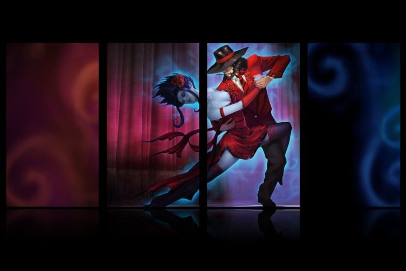 Tango Twisted Fate wallpaper
