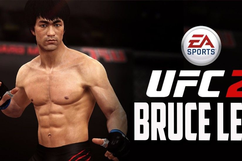 EA Sports UFC 2 Bruce Lee Career Mode | Bruce Lee EA Sports UFC 2 Gameplay  | Bruce Lee in UFC 2 - YouTube
