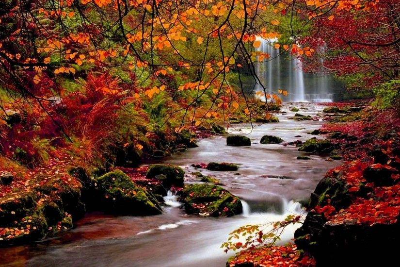 Image: Beautiful Fall Scenery Wallpaper Download Free