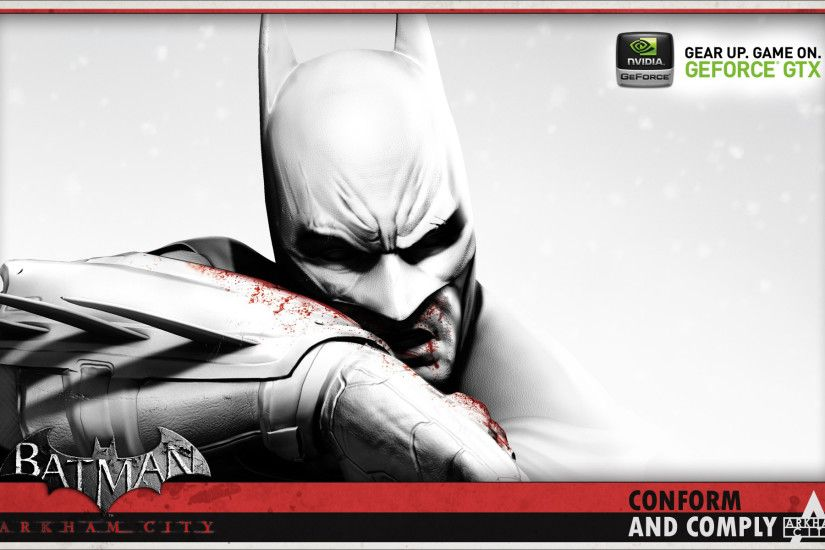 Download Batman Arkham City Batman wallpaper for your desktop ...