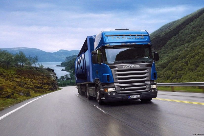 Wide wallpapers Trucks