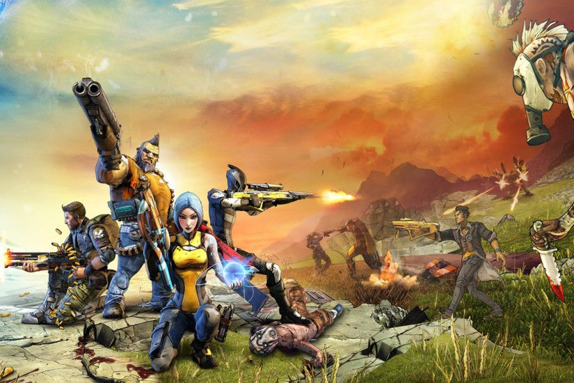 Borderlands HD Wallpapers Backgrounds Wallpaper | HD Wallpapers | Pinterest  | Borderlands, Hd wallpaper and Wallpaper backgrounds