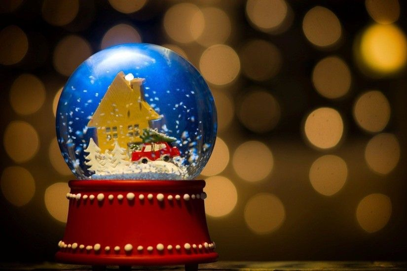Christmas Snow Globe Wallpapers - HD Wallpapers Inn