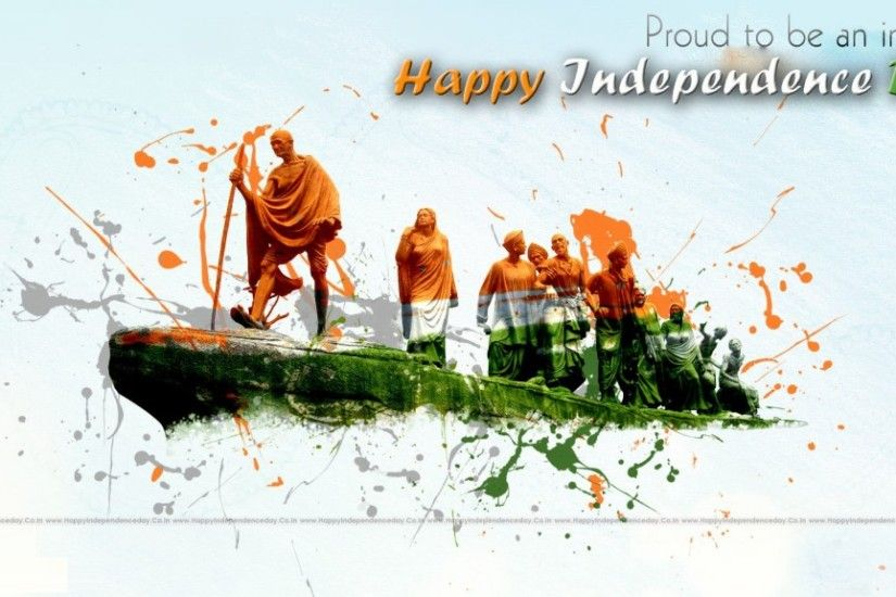 Indian Flag Wallpaper Animation for India Independence Day with